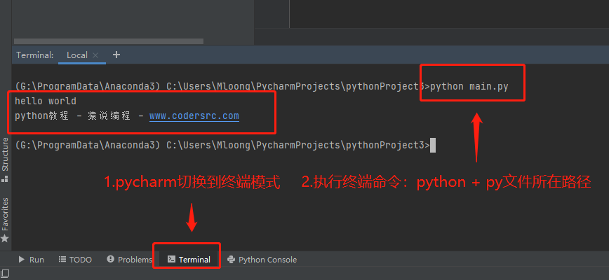 Python Hello World入门