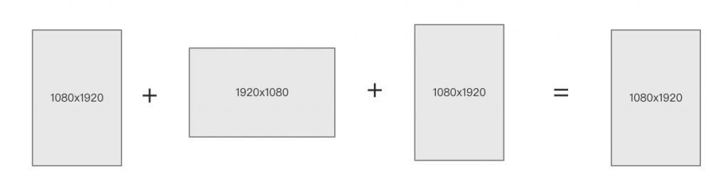 AVFoundation – 将多个媒体合并(四) – 不同分辨率媒体合成并自定义分辨率